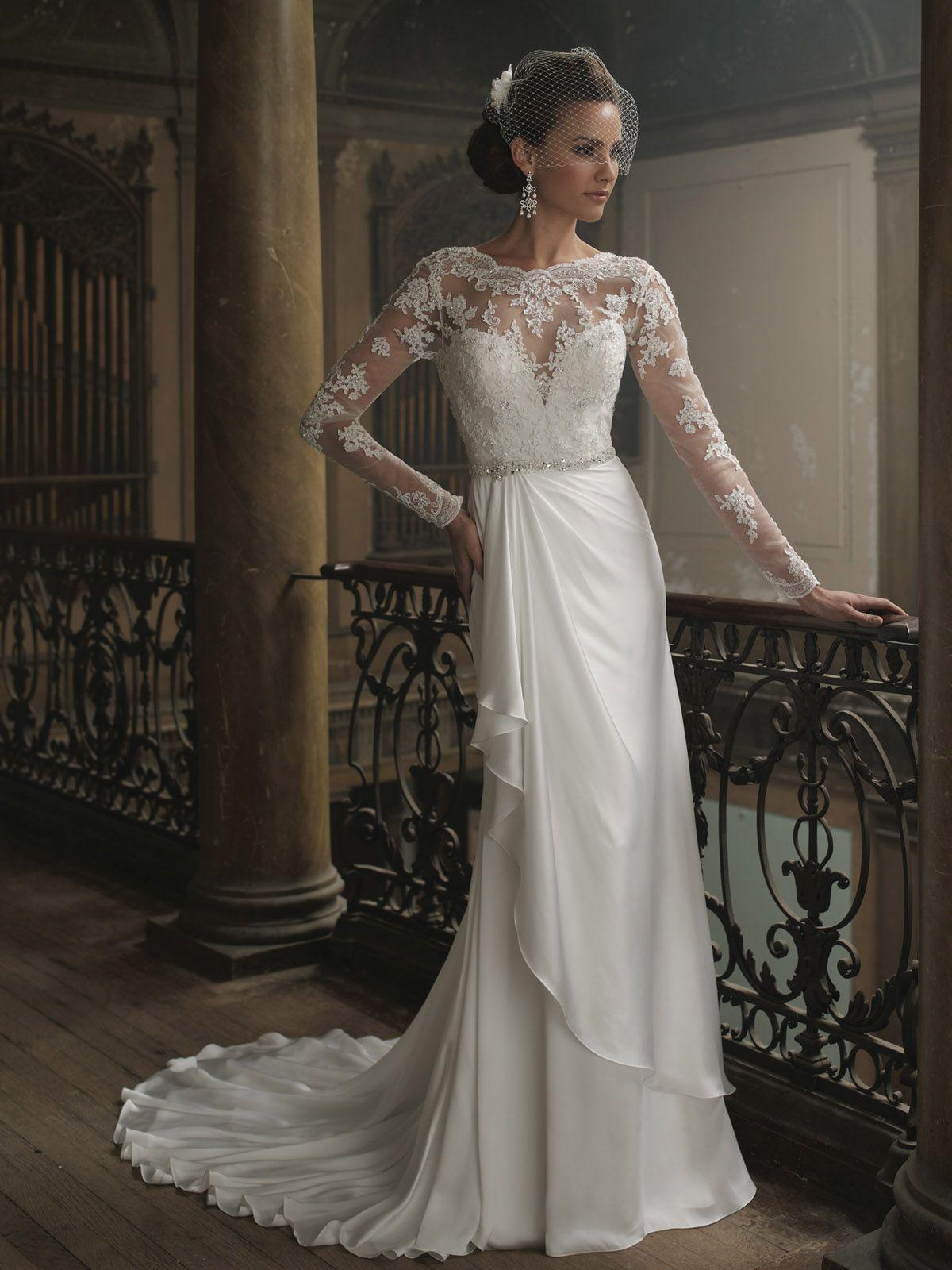 Свадебные платья шелковая юбка