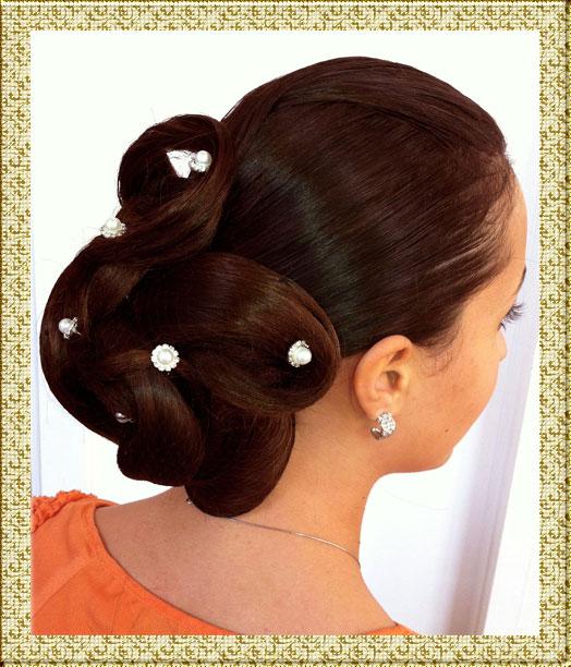 Прическа из полудлинных волос своими руками из фото 873
