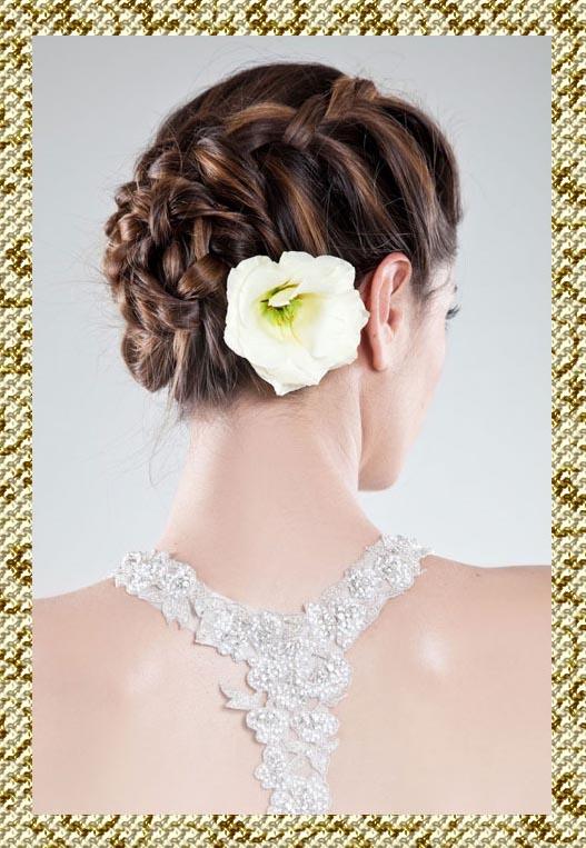 Самые красивые свадебные прически : фото свадебных причесок